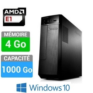 PC LENOVO 90BJ0096FR H30-05 E1-4GO-1TO W10