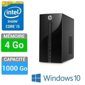 PC HP 460-P005NF I5-4GO-1TO W10
