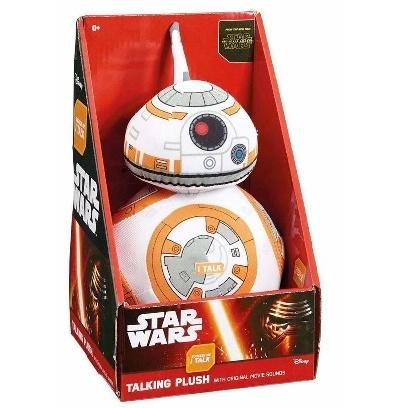 PELUCHE PARLANTE BB-8 STAR WARS