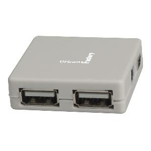 HUB USB2 4 PORTS URBAN FACT- MHU05UF GRIS