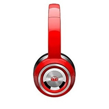 CASQUE MONSTER 12852600 FILAIRE NTUNE ROUGE