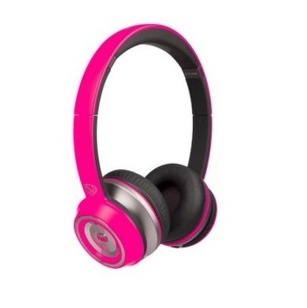 CASQUE MONSTER 12852600 FILAIRE NTUNE ROSE
