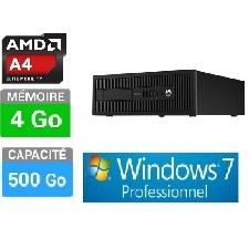 PC HP ELITEDESK  G0K55AV -4GO-500GO W7 PRO