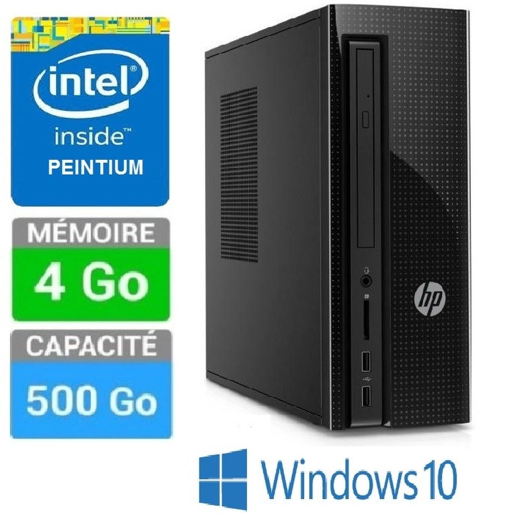 PC HP 260A103NF J3710-4GO-1TO W10