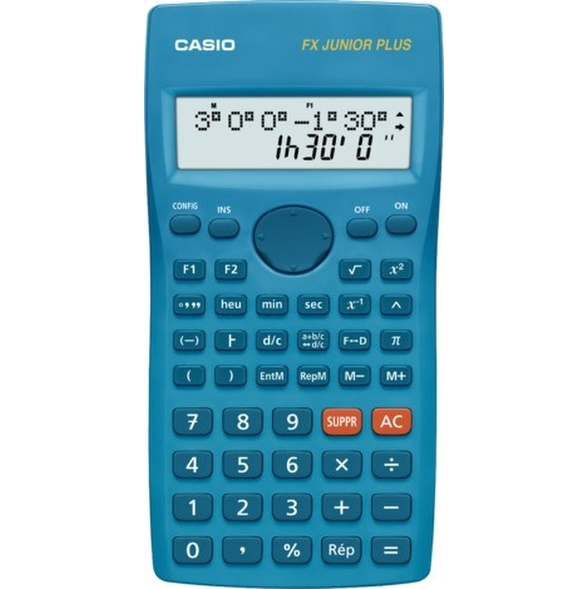 CALCULATRICE SCIENTIFIQUE CASIO FX JUNIOR PLUS