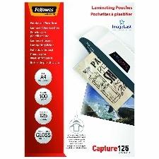 POCHETTES DE PLASTIFICATION A4 125MICRONS X 100