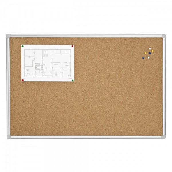 tableau liege 90 120cm cadre aluminium maor discount. Black Bedroom Furniture Sets. Home Design Ideas