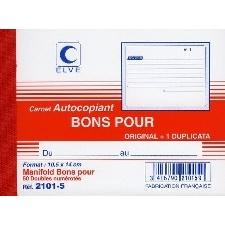 CARNET ELVE MANIFOLD BONS POUR 105X140 MM