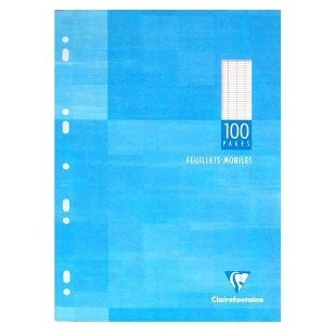 COPIES SIMPLES BLANC PERFORATION UNIVERSELLE - 100 PAGES - 70G