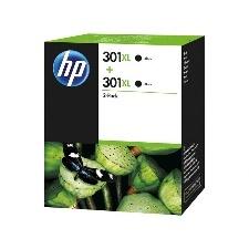 CARTOUCHE ENCRE HP 301XL NOIR PACK DE 2