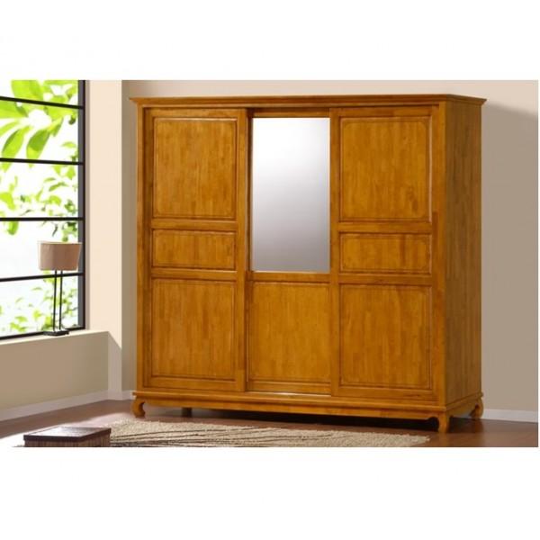 Samathan armoire coulissante 3 portes maor discount - Armoire 3 portes coulissantes ...