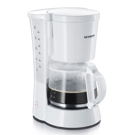 MACHINE À CAFÉ SEVERIN KA 4478 1-4L 800W BLANC