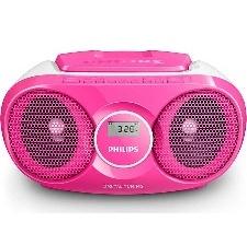 RADIO PHILIPS LECTEUR CD TUNER  NUMERIQUE 3W ROSE