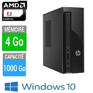 PC HP 260A120NF E2-4GO-1TO W10
