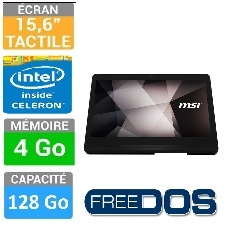 PC MSI AIO PRO16-015X FLEX-015XEU 15  TAC- 4GO-128GO SSD