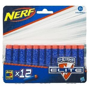 NERF ELITE RECHARGES X12