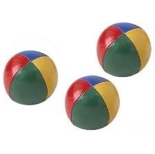 BALLES A JONGLER SACHET DE 3 COULEURS