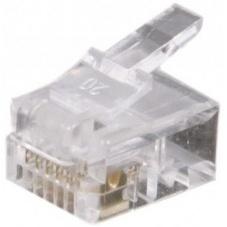 CONNECTEUR 6-6 RJ12 SACHET DE 10