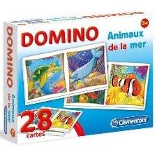 DOMINO ANIMAUX DE LA MER