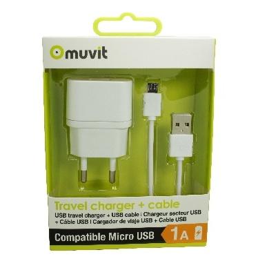CHARGEUR SECTEUR USB   CABLE USB