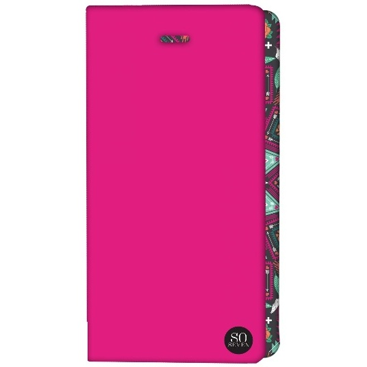 ETUI UNIVERSEL SO SEVEN ROSE FLUO TAILLE L