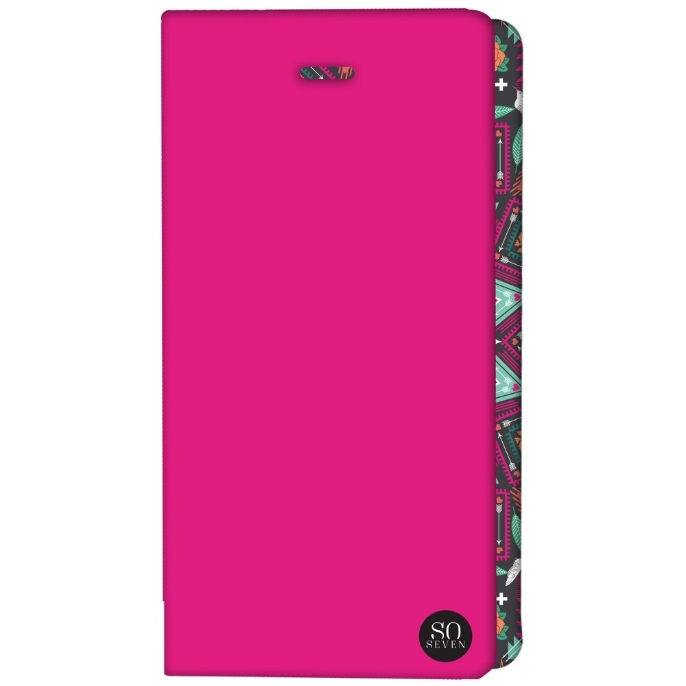 ETUI UNIVERSEL SO SEVEN ROSE FLUO TAILLE XL