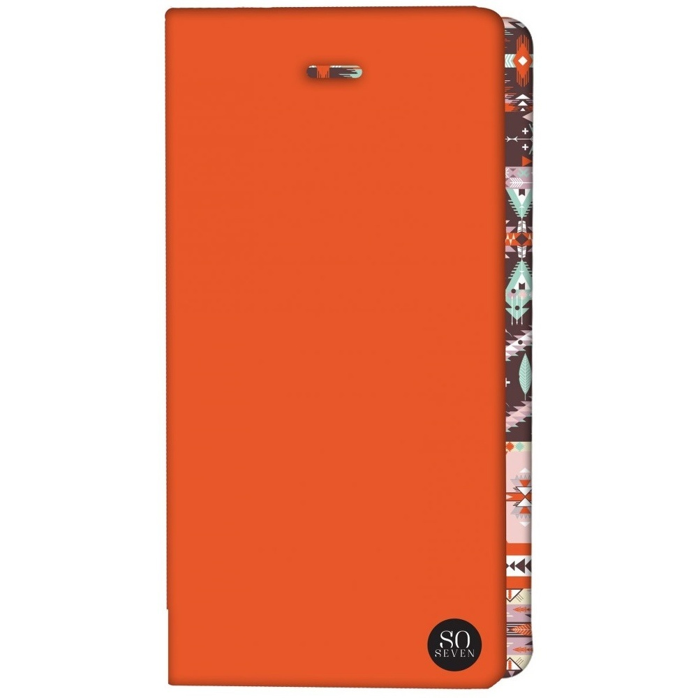 ETUI UNIVERSEL SO SEVEN ORANGE TAILLE XL