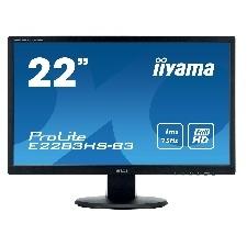 ECRAN 22  LED IIYAMA E2283HS-B3 VGA DP HDMI HP