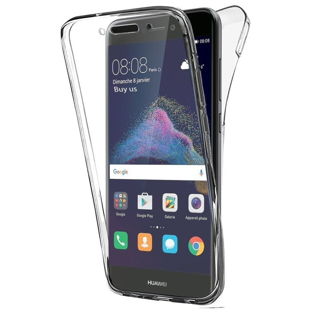 COQUE ANTICHOC TRANSPARENT P8 LITE 2017
