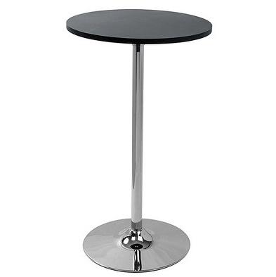 TABLE DE BAR CIRCLE NOIR