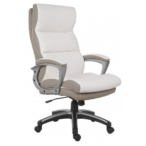 FAUTEUIL DACTYLO COOL 7403 BLANC