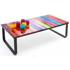TABLE BASSE ALTAMIRA RAINB-BLACK