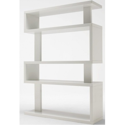 BIBLIOTHEQUE SNAKE WHITE