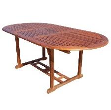 TABLE NATURAL RALLONGE