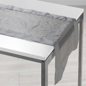 CHEMIN TABLE GRIS