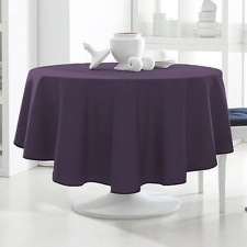 NAPPE RONDE 180 TODAY DEEP PURPLE