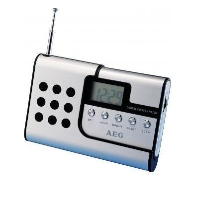 RADIO AEG DE VOYAGE HP AMOVIBLE ALUM