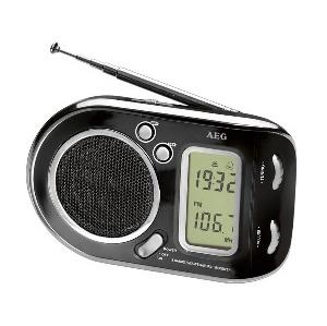 RADIO AEG PORTABLE NOIR