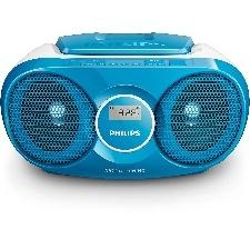 RADIO CD PHILIPS TUNER NUMÉRIQUE 3W BLEU