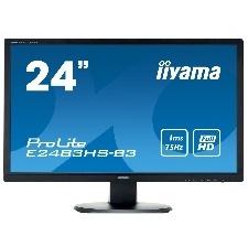 ECRAN 24  LED IIYAMA E2483HS-B3 VGA DP HDMI HP