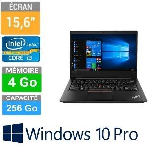 PC PORTABLE 15.6 THINKPAD E570 I3-7100U 4GB-256 FHD W10P 1Y