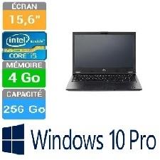 PC PORTABLE FUJITSU LIFEBOOK 15.6 E458 I5-7200U 4GB-256GBSSD W10P