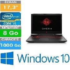 "PC PORTABLE HP OMEN 17-AN006NK I5 17,3""CORE I5 8GB-1TB W10H"