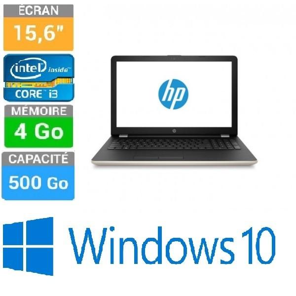 PC PORTABLE HP15 BS085NK 15.6 I3 6006U 4GB-500GB W10H Agrandir. Annulé  Afficher toutes les images 0ecc2f6b8cdc