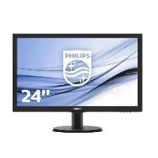 ECRAN 24  LED PHILIPS 243V5LHAB DVI-VGA-HDMI