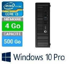PC HP ELITEDESK 800 G1 SFF I3-4GO-500GO W10 PRO