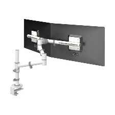 SUPPORT ECRAN LCD A FIXER-PINCER DATAFLEX 2 ECRANS