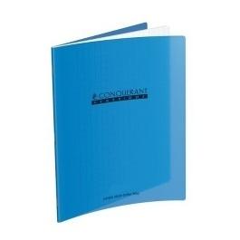CAHIER AGRAFE 170X220MM (PETIT FORMAT) POLYPRO BLEU 32P 90G DL3-10 CLASSIQUE