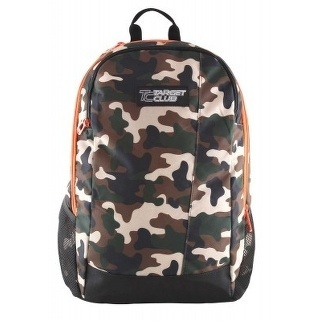 SAC A DOS BACKPACK TC CAMUFLAGE 17258 41X32X18CM TARGET MARRON