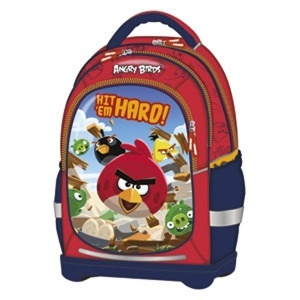 BACKPACK SUPERLIGHT ANGRY BIRDS 32x43x18 cm 17544